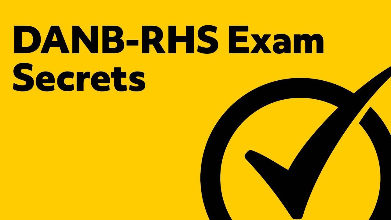 DANB-RHS Exam Tips - Simple X-Ray Tube Review