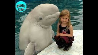 💖Cute Kids and Zoo Animals💖#2 |💚Cute Animals and Kids compilation💟| INSANELY CUTE.|
