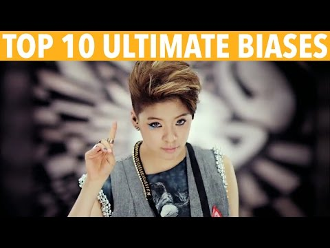 TOP 10 K-POP ULTIMATE BIASES - K-VILLE'S STAFF PICKS