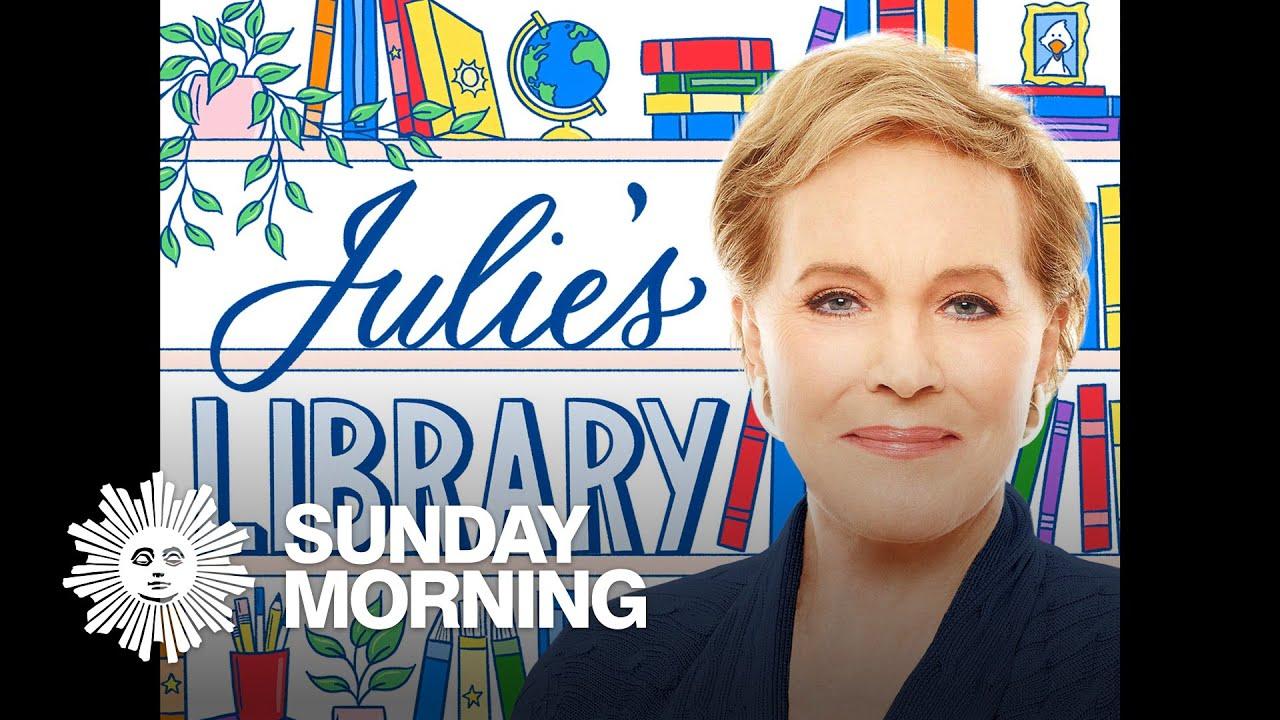 Julie Andrews on her book podcast