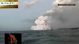 23 People Injured As Airborne Lava Crashes Through The Roof Of Hawaii Tour Boat!
