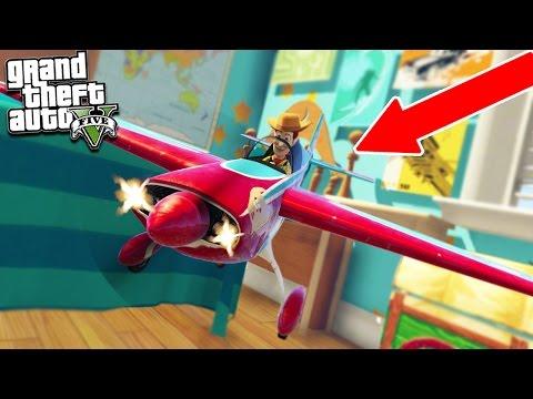 GTA 5 TOY STORY WOODY & BUZZ EPIC BATTLE! (GTA 5 Mods)
