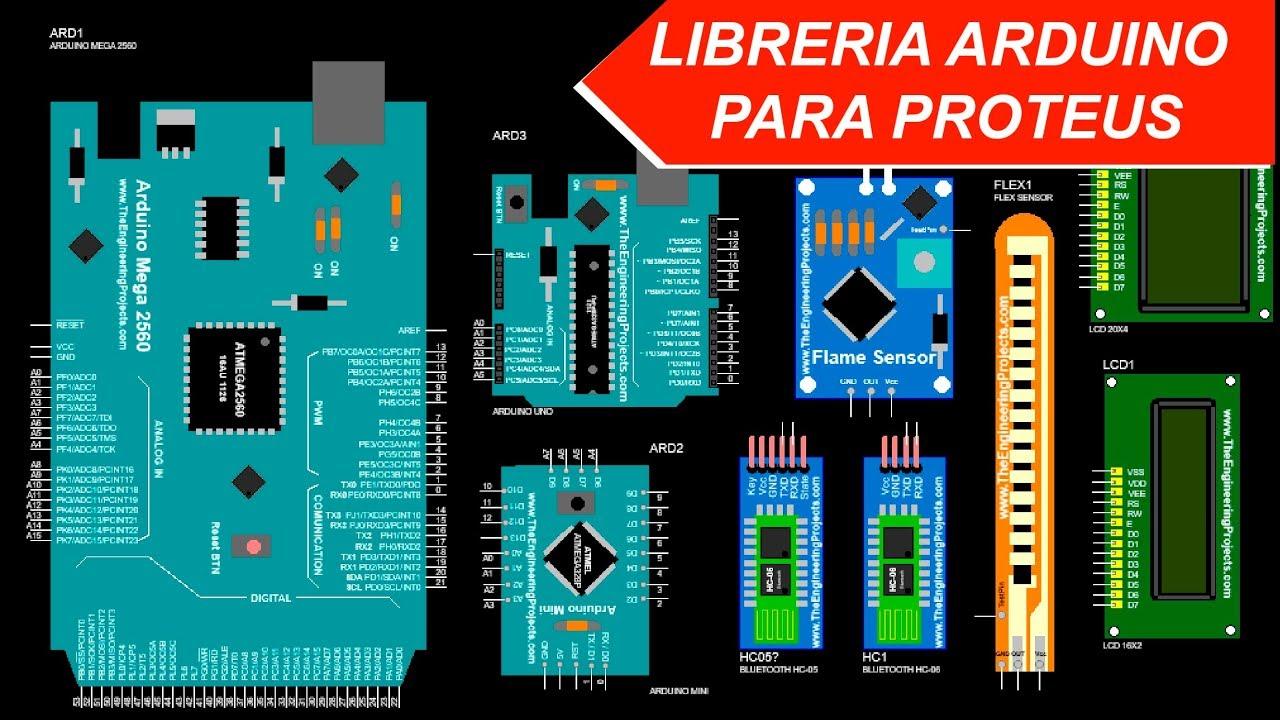 Librerias Arduino Para Proteus