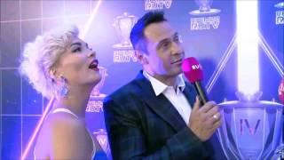A Dessa Стас Костюшкин с женой Юлией Костюшкиной и Роботрон