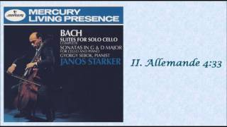 BACH: Suite for Solo Cello No. 6 in D major BWV 1012