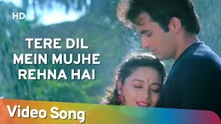 Tere Dil Mein Mujhe (HD) | Mohabbat (1997) | Sanjay Kapoor | Madhuri Dixit | Hindi Romantic Song