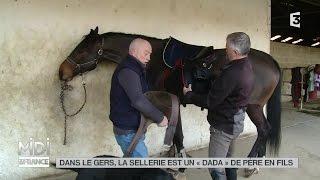 """MADE IN FRANCE : Dans le Gers, la sellerie est un """"dada"""" de père en fils"""