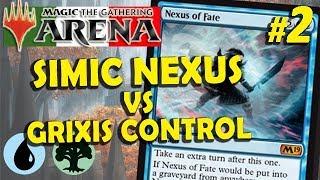 Simic Nexus vs Grixis Control #2 (MTG Arena ITA)