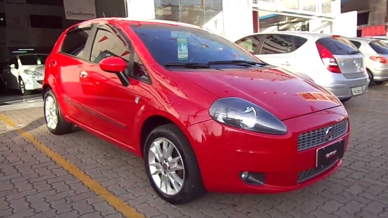 fiat punto attractive it lia 1 4 8v flex 2012 youtube. Black Bedroom Furniture Sets. Home Design Ideas