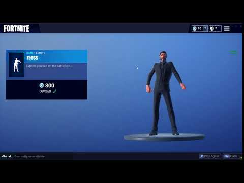 RARE!!! Floss EMOTE IN ITEM SHOP