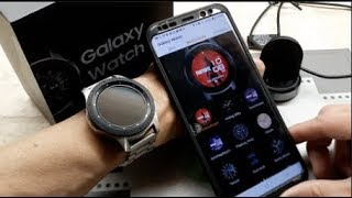 2018 Samsung Galaxy Watch Black Screen of Sudden Death + Fortnite Watch Faces!! 12 14 18!