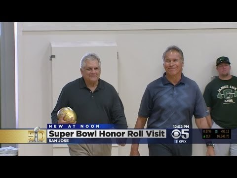 Former Oakland Raiders QB Jim Plunkett Visits San Jose School
