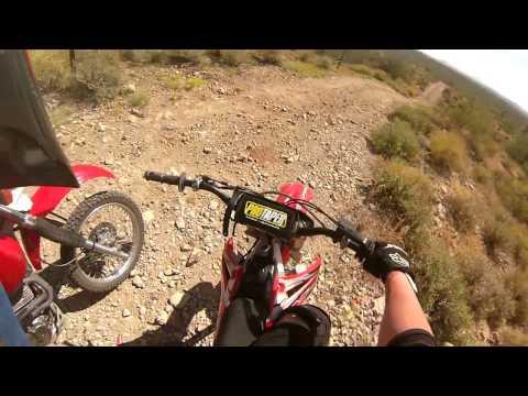 Dirt Bike Riding on the westside of  Phoenix Arizona