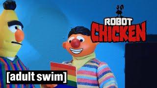 Robot Chicken | Bert And Ernie Gay Rumours | Adult Swim UK 🇬🇧