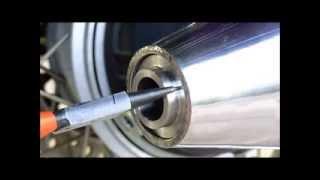 MOTOGUZZI V7 750 SPECIAL NEVADA 750 2011 TERMINLE GPR  VIDEO GPR SLIP ON EXHAUST