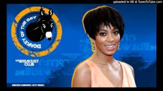 Solange Knowles Beats Up Jay Z ''Donkey Of The Day'' The Breakfast Club Power 105.1 [New 2014]