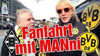 Matze Knop begleitet die Fans von Borussia Dortmund zum Borussen-Duell