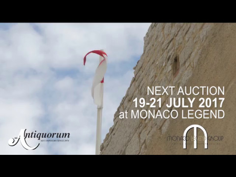 Auction July 2017 - Monaco Legend Group - Antiquorum Geneve