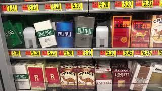 Сколько стоят сигареты в Америке и какие они?