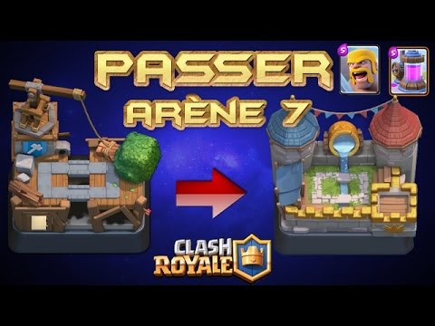 Deck de d bordement pour passer ar ne 7 clash royale youtube for Clash royale meilleur deck arene 7