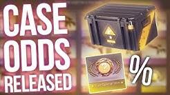 CS:GO CASE ODDS RELEASED