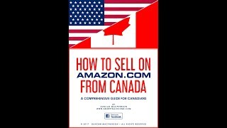 How to sell on Amazon from Canada