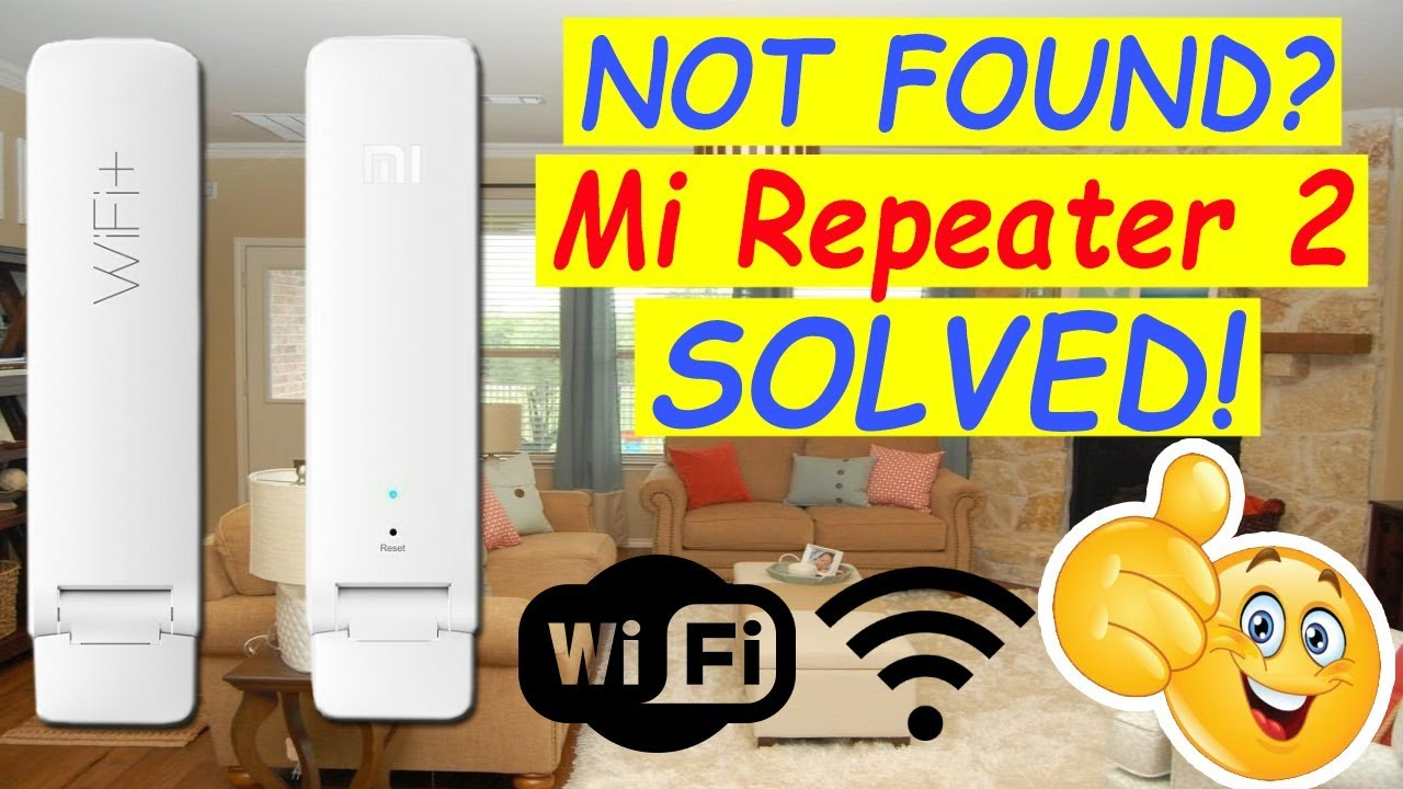 How to Fix- Mi Repeater 2 Not Found on MiHome App
