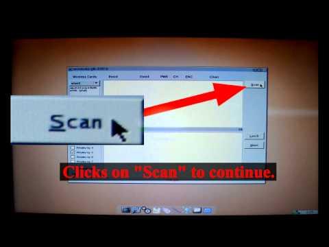 Video Tutorial Hack Wifi Wireless Password Wep Beini 1.2.2 Minidwep-gtk Step By Step