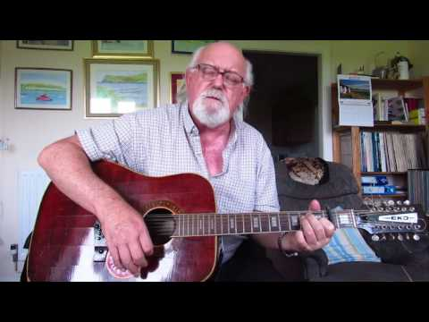 12-string Guitar: Happy Together (Including lyrics and chords)