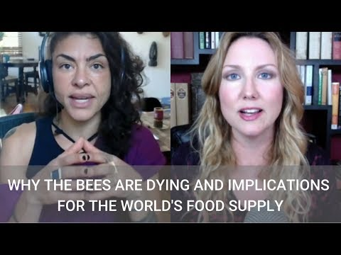 #211 Why The Bees are Dying and Implications for the World's Food Supply with Maryam Henein