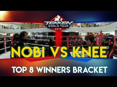 Knee Vs Nobi - TWT 2019 - Top 8 Winners bracket - Kazumi, Steve (Knee) vs Steve (Nobi) - Tekken 7
