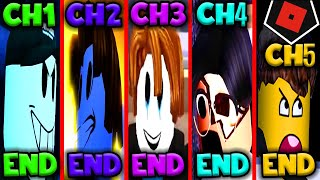 ROBLOX GUESTY ALL 5 ENDINGS CHAPTER 5 NEW UPDATE!