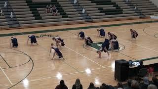 FOWLERVILLE HIGH SCHOOL DANCE TEAM AT COOPERSVILLE