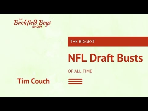 NFL Draft Busts | Tim Couch