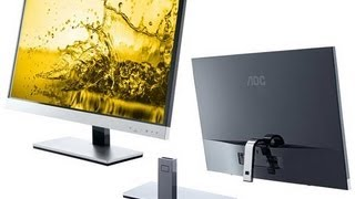 AOC Monitor Review - IPS MONITOR - I2757FM Overview