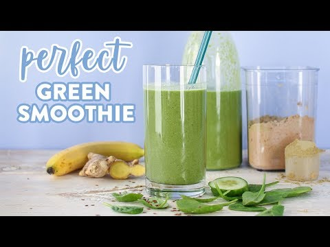 How To Make The Perfect Green Smoothie For Glowing Skin