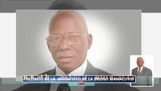 Présentation de l'inventeur  DE MANACOVID BATANGU MPESA en Espéranto