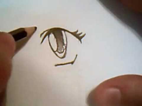 how to draw anime female eyes part 1 large eyes youtube