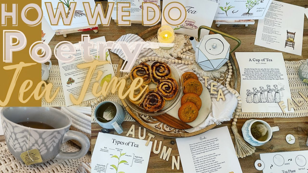 How we do POETRY TEA TIME |