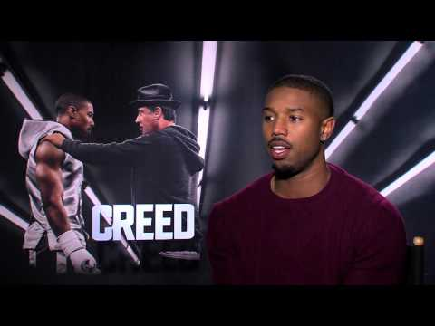 "Creed: Michael B. Jordan ""Adonis Johnson"" Official Movie Interview"