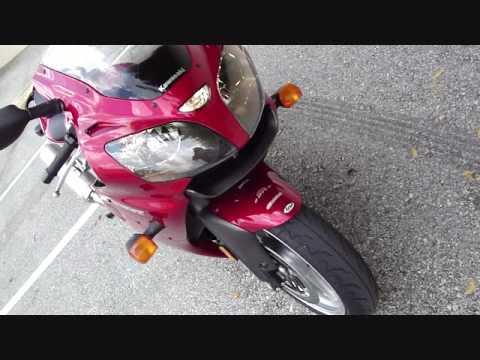 2007 Kawasaki Ninja ZX6R ZZR 600 Sport Bike