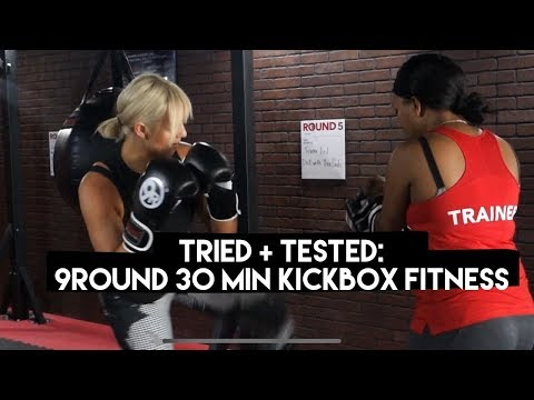 9Round 30 min Kickbox Fitness {TRIED + TESTED} | Chinae Alexander