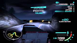 NFS Carbon | Drift | Lofty Heights Downhill | FireTruck