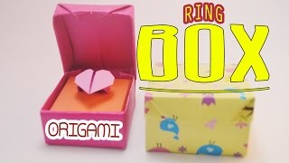 Valentine's day Origami ring box Tutorial