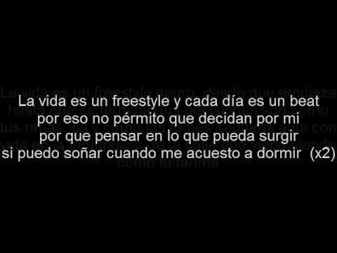 letra  la vida es un freestyle