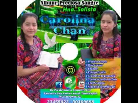 Solista Carolina Chan Somos el pueblo de Dios