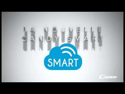vente chaude en ligne 5ae40 3278c Candy Smart Touch, le premier lave-linge équipé d'un assistant personnel