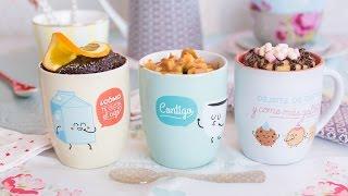Mug Cakes - Receta - María Lunarillos | tienda & blog