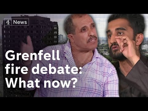 Grenfell Tower debate: What now? Survivors, community and politicians discuss