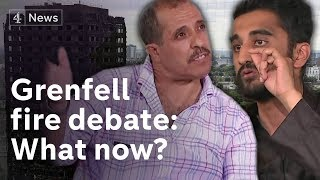 Grenfell Tower debate: What now? Survivors, community and politicians discuss thumbnail